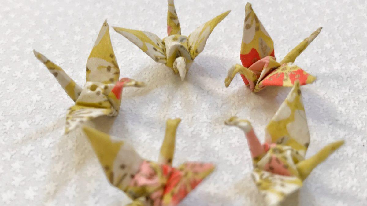 Présentation des bijoux-origamis
